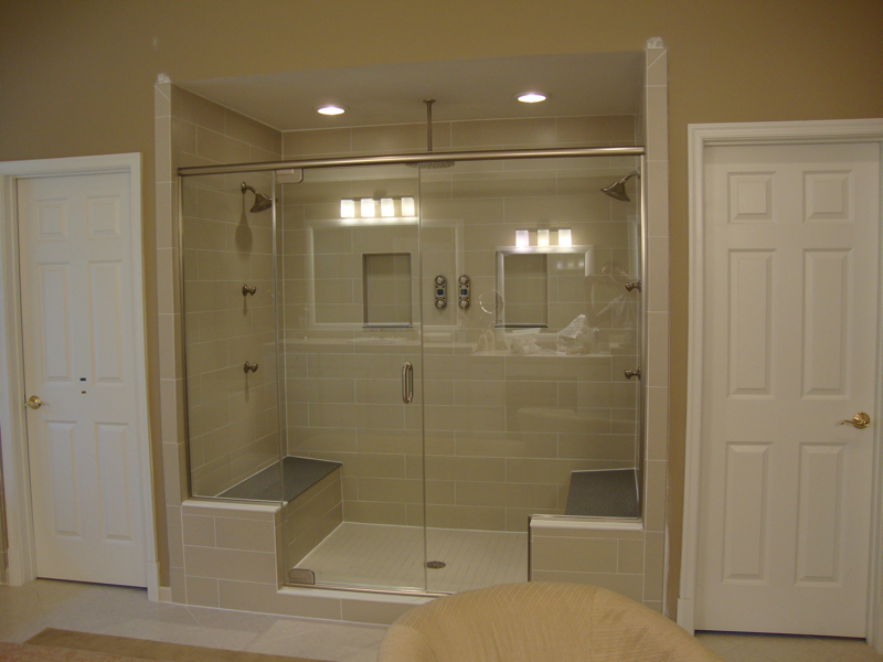 Shower Doors - COOKS GLASS WORK